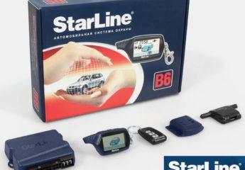 Сигнализация Старлайн В6 (StarLine B6)