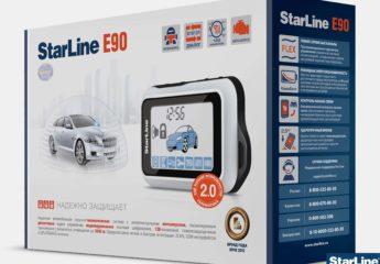 Сигнализация Старлайн Е90 (Starline E90)