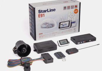 Сигнализация Старлайн Е91 (Starline E91)